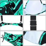 Load image into Gallery viewer, High Waist Printed Bikini Set (Large Size)