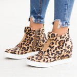 Load image into Gallery viewer, Woman Casual Wedge Sneaker