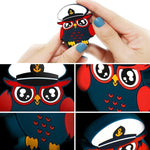 Load image into Gallery viewer, Owl Sergeant Invisible Magnetic Phone Holder, Multifunction