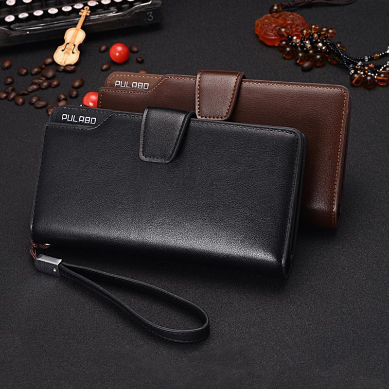 Long Wallet With Zipper