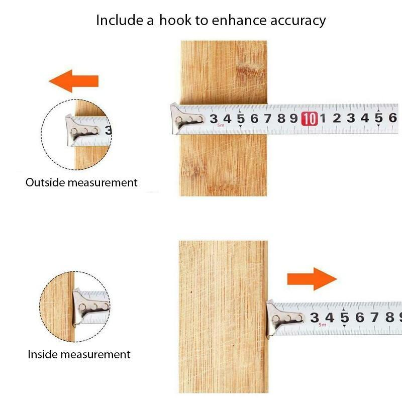 Measuring Tool Self-Locking Ruler