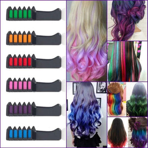 Temporary Hair Dye Comb (10 PCs)