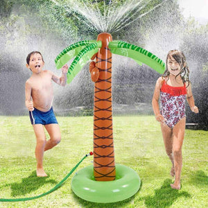 Inflatable Coconut Tree Water Spray Toy