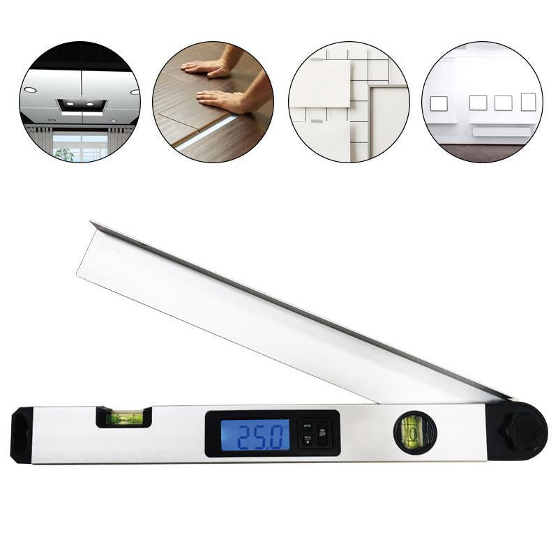 Aluminum alloy digital display angle ruler