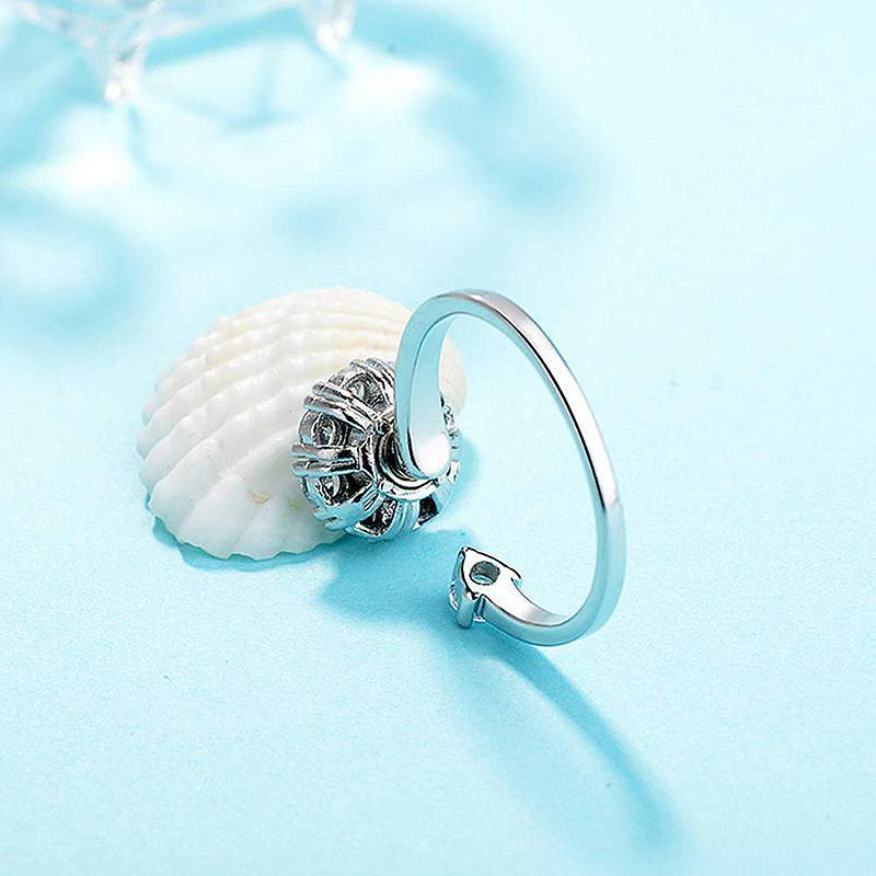 Sterling Silver Spinning Rings (Adjustable Size)