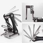 Load image into Gallery viewer, Hirundo 16-in-1 Chrome Plating EDC Multitool
