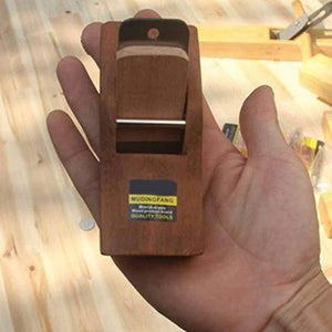 Mini Wood Planer with Steel Blade