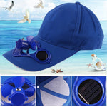 Load image into Gallery viewer, Solar Powered Cooling Cap