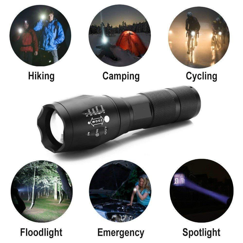 Military Grade Glare Flashlight