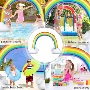 Inflatable Water Spray Rainbow Arch
