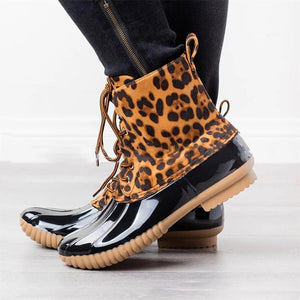 Women Chelsea Waterproof Rain Ankle Boots
