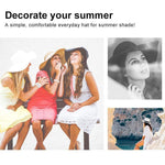 Load image into Gallery viewer, Summer Beach Wide Brim Sun Hats, UPF 50+