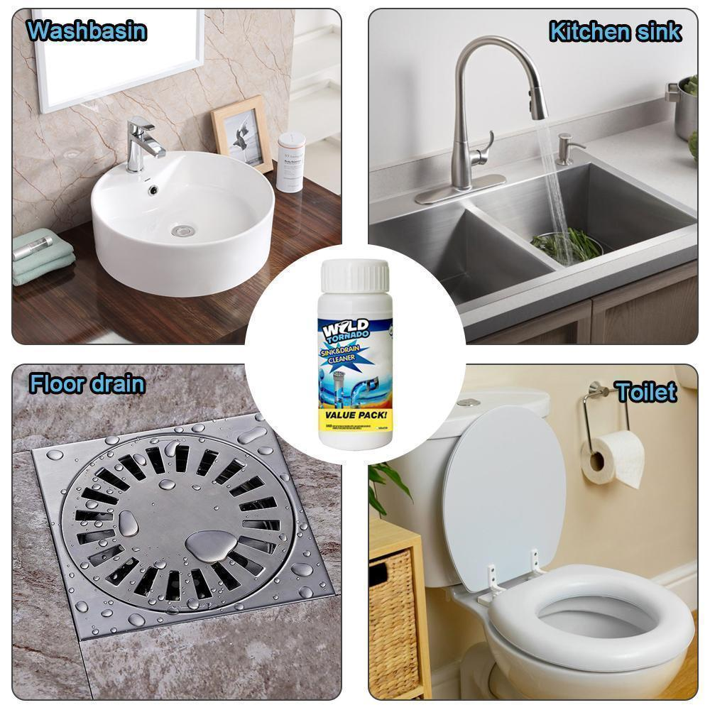Powerful Drain Cleaner, Washbasin Cleaner
