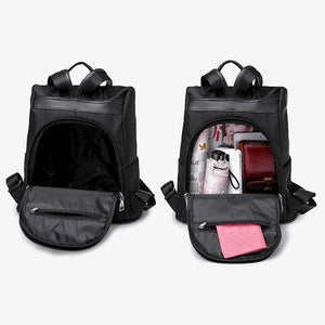 Waterproof Oxford Cloth Anti-theft Backpack