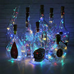 Load image into Gallery viewer, LED bottle light cork night light DIY deco gift