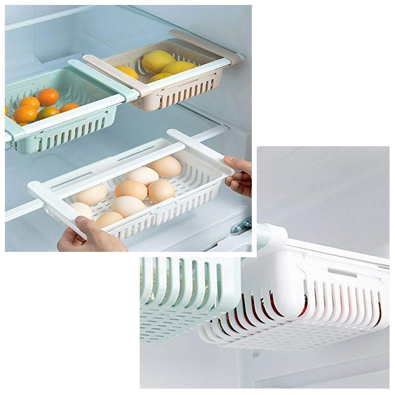 Kitchen Storage Refrigerator Partition Storage Rack