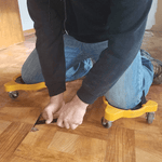 Load image into Gallery viewer, Flooring Knee Silicone pads With Wheels