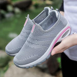 Load image into Gallery viewer, Women Breathable Mesh Slip On Sneakers