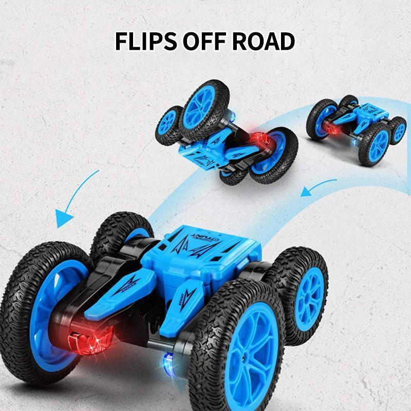 Remote Control Car Double Sided Rotating Tumbling