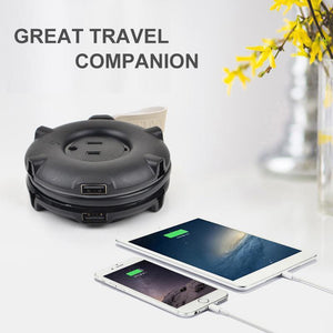 Universal Travel Power Strip