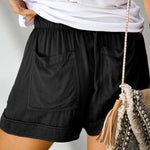 Load image into Gallery viewer, Women Casual Lace-up Loose Shorts