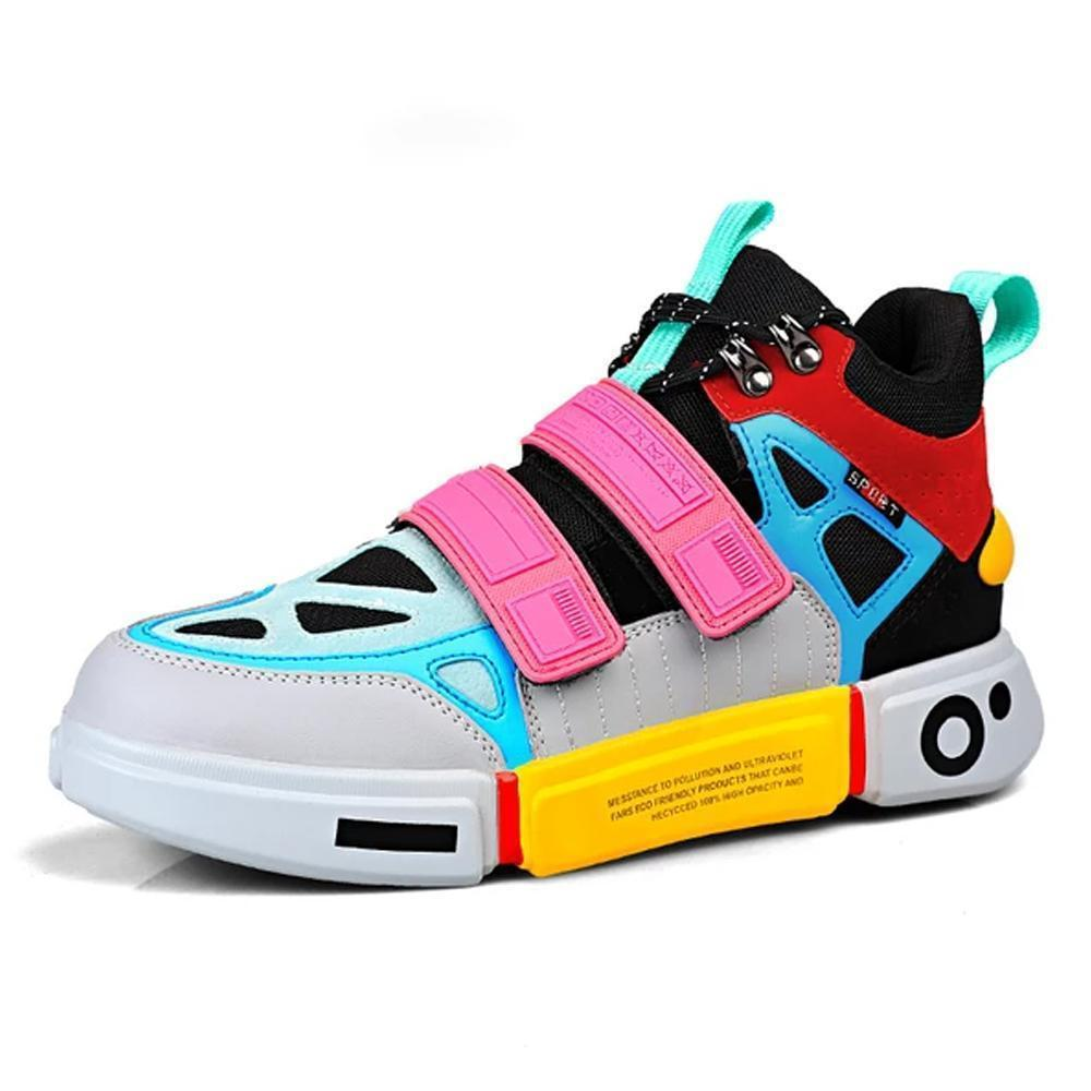 Unisex Couple Running Velcro Sneakers
