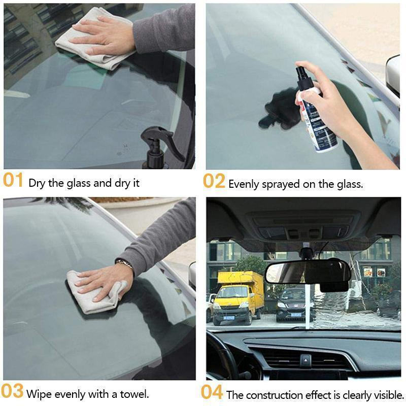Glass Coating Agent Stains Cleaner