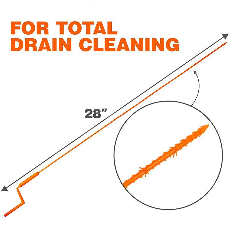 Upgraded Drain Clog Remover Kit