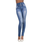 Load image into Gallery viewer, Sexy high-rise slim-fit jeans
