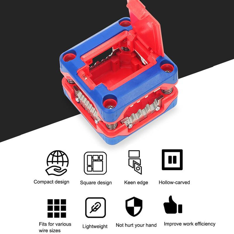 Multi-Function Wire Stripper Box