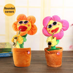 Load image into Gallery viewer, Sunflower singer with saxophone, funny toy