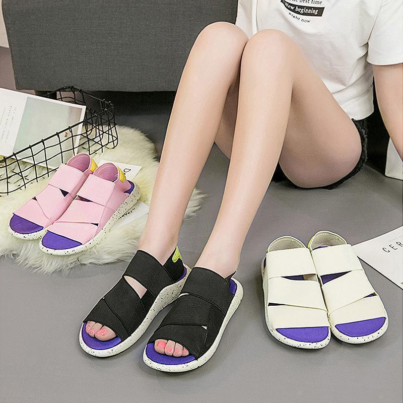 Summer Open-toed Platform Sandals