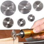 Load image into Gallery viewer, Disc Drill Blades And Mandrel
