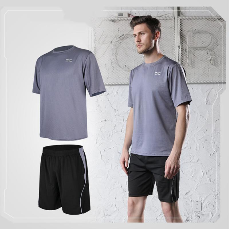Men tight-fitting short-sleeved sportswear