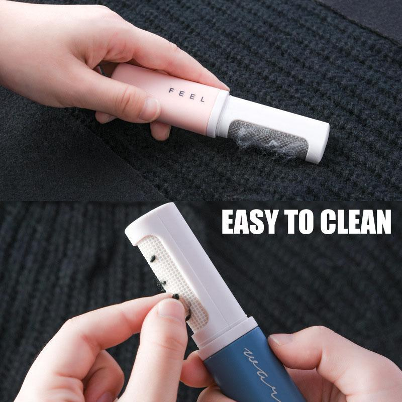 Double-Sided Portable Lint Remover