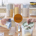 Load image into Gallery viewer, Rotating Kitchen Storage Tank Dry Food Storage Containers Cereal Storage