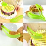 Load image into Gallery viewer, Plastic Cake Knife Bread Slicer