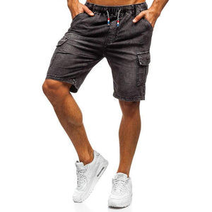 Men Fashion Denim Shorts