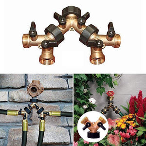 Garden Two-Way All Copper Ball Valve