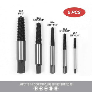 Screw Extractor Set (5 PCs/ 6 PCs/ 8 PCs)