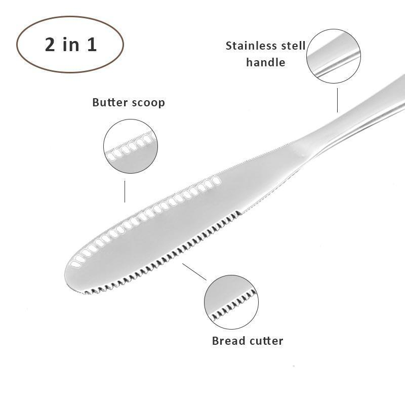 Multi-use Stainless Steel Butter Knife