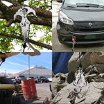 Load image into Gallery viewer, Stainless Steel Survival Folding Grappling Gravity Hook