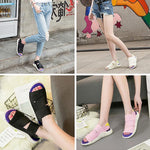 Load image into Gallery viewer, Summer Open-toed Platform Sandals