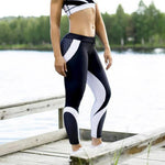 Load image into Gallery viewer, High Waist  Geometric Printed Yoga Pants