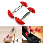 Load image into Gallery viewer, Mini Adjustable Shoe Trees Plastic Women Mini Shoes Keepers Support Care Stretcher Shoe Shapers Shoes Expander Extender
