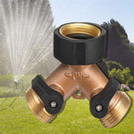 Load image into Gallery viewer, Garden Two-Way All Copper Ball Valve
