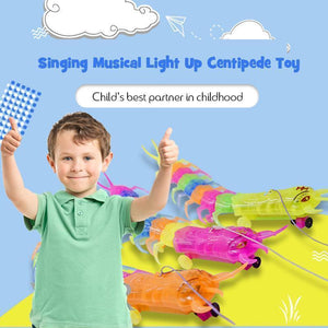 Singing Musical Light Up Centipede Toy