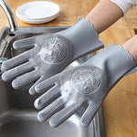 Load image into Gallery viewer, Multi-functional Silicone Decontamination Non-stick Oil Cleaning Gloves (1 pair)