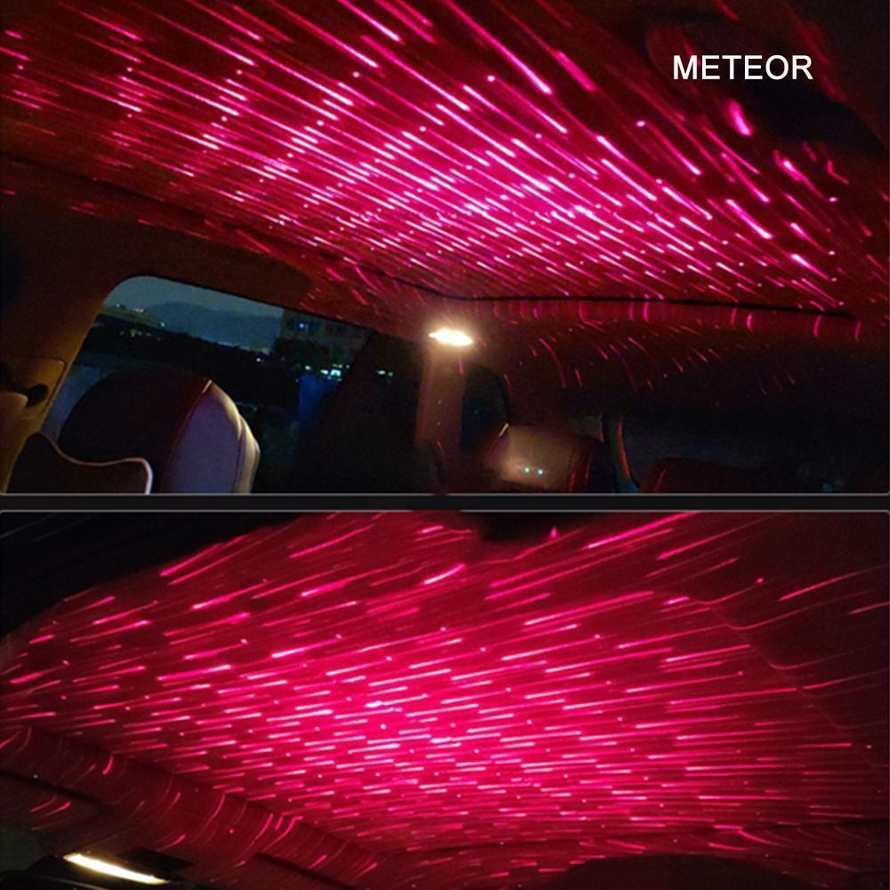 USB LED Car Atmosphere Lamp, Romantic Decoration