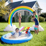 Load image into Gallery viewer, Inflatable Water Spray Rainbow Arch
